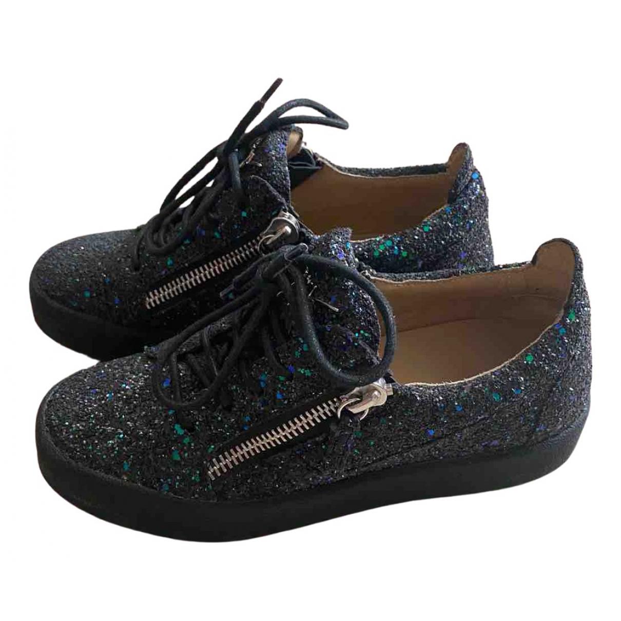 Giuseppe Zanotti \N Sneakers in  Bunt Mit Pailletten