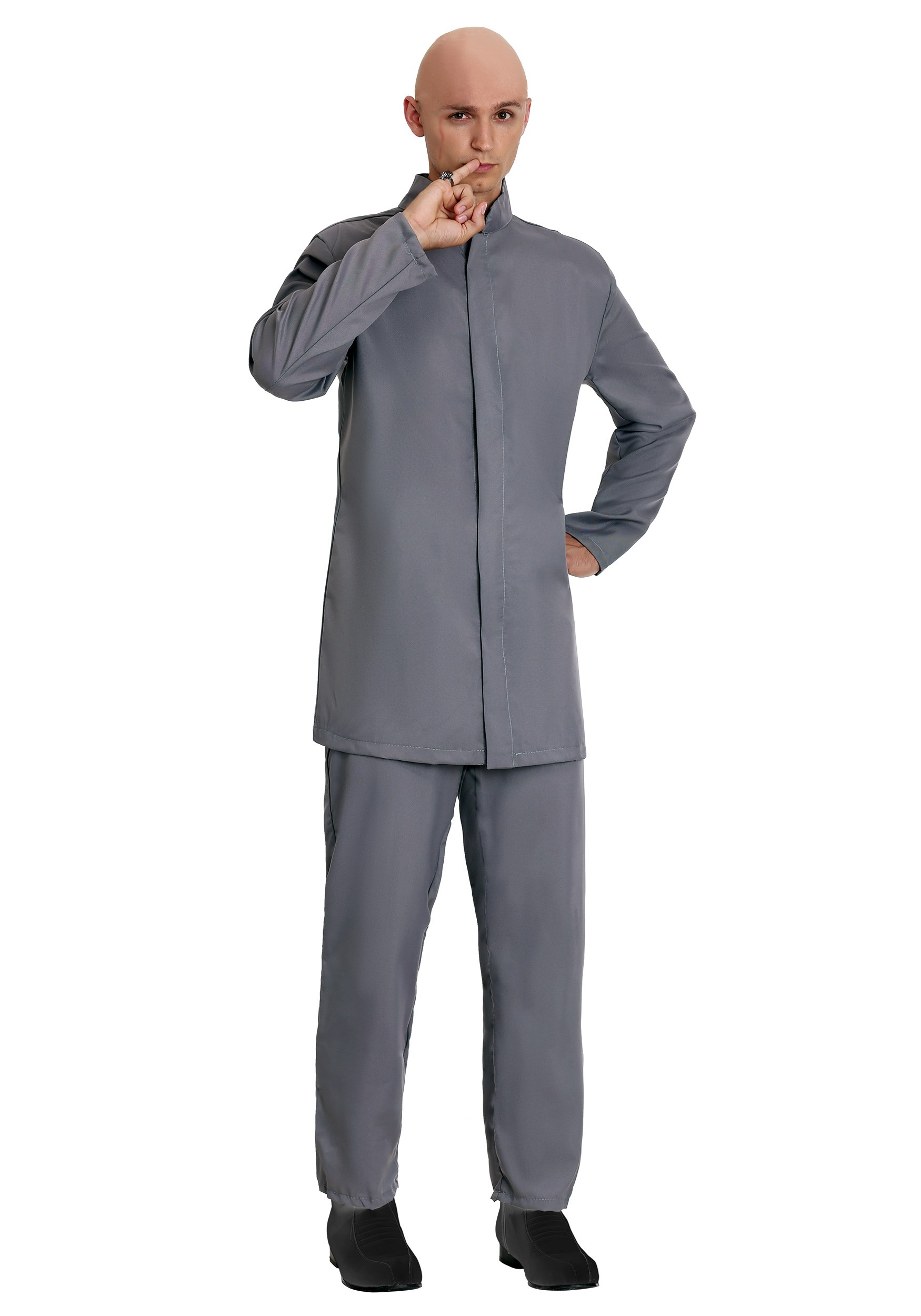 Deluxe Adult Gray Suit Costume | Austin Powers Costume