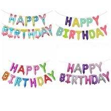 1set Birthday Decorative Balloon