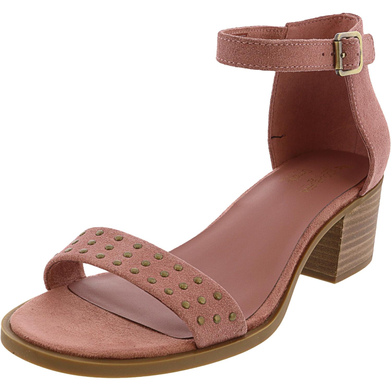Ugg Women's Bellen Ash Rose Ankle-High Suede Heel - 8.5M