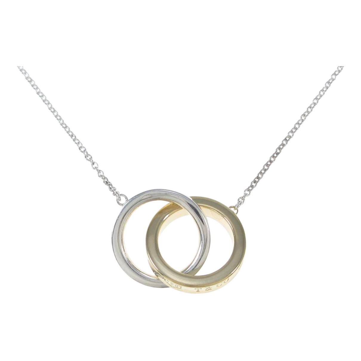 Tiffany & Co \N Kette in  Silber Gelbgold