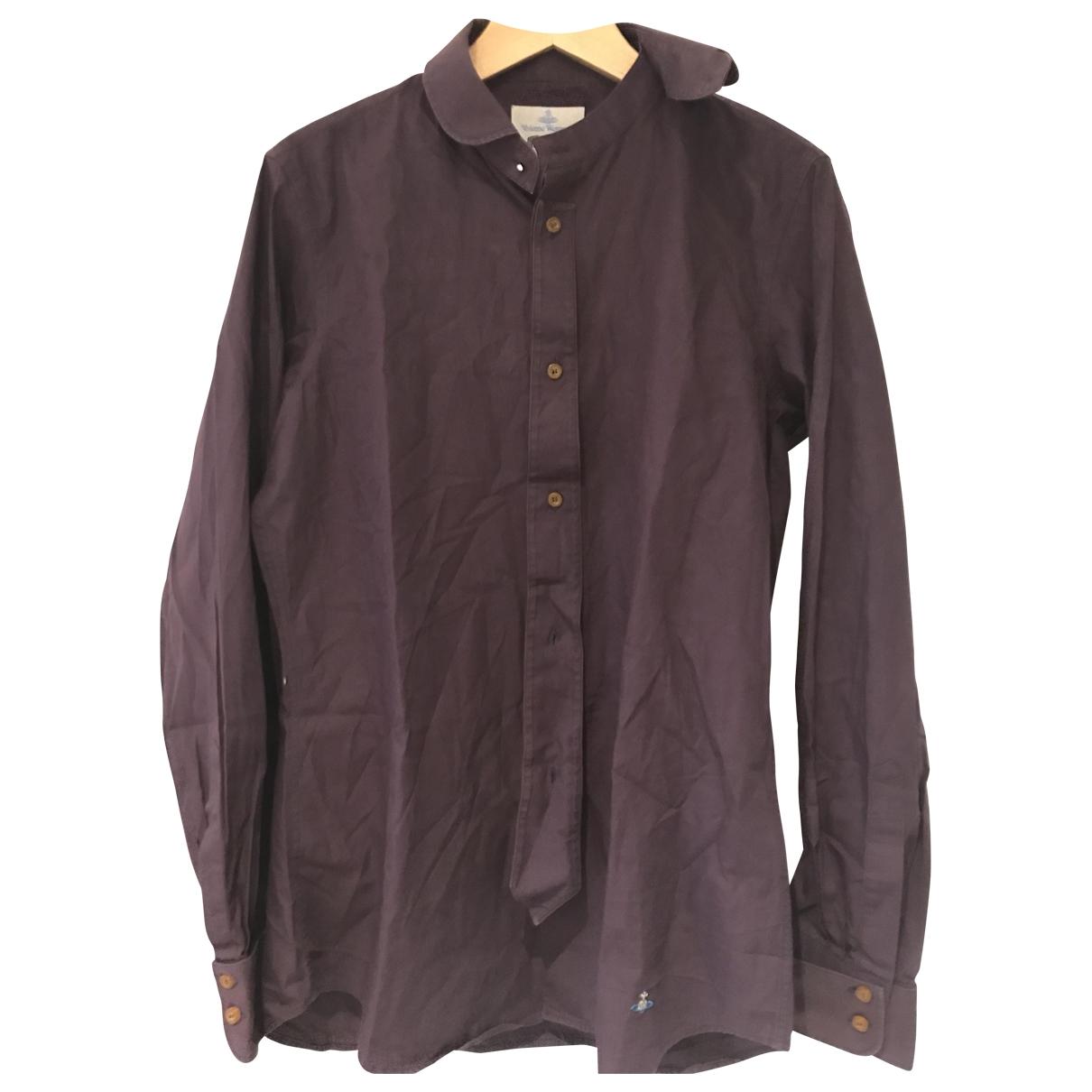 Vivienne Westwood - Chemises   pour homme en coton - violet