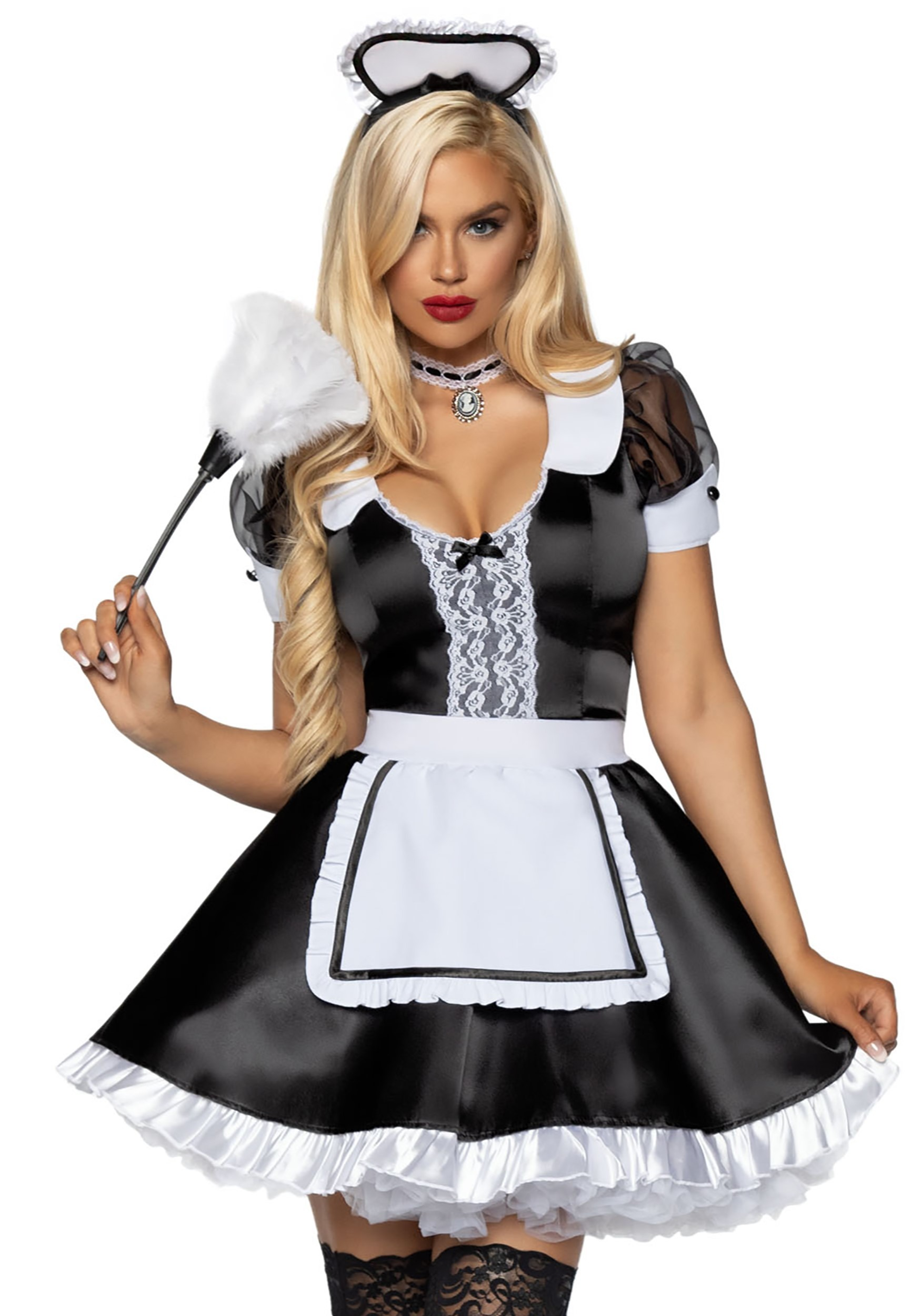 Classic French Maid Women's Costume
