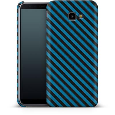 Samsung Galaxy J4 Plus Smartphone Huelle - Stripes von caseable Designs