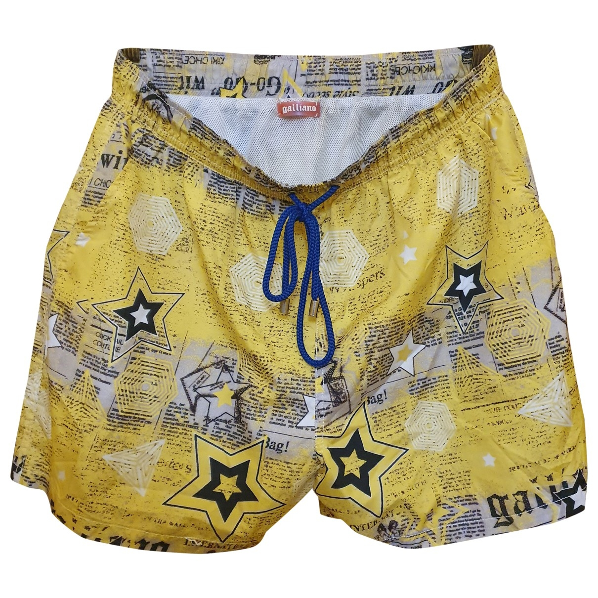 Galliano \N Yellow Swimwear for Men L International