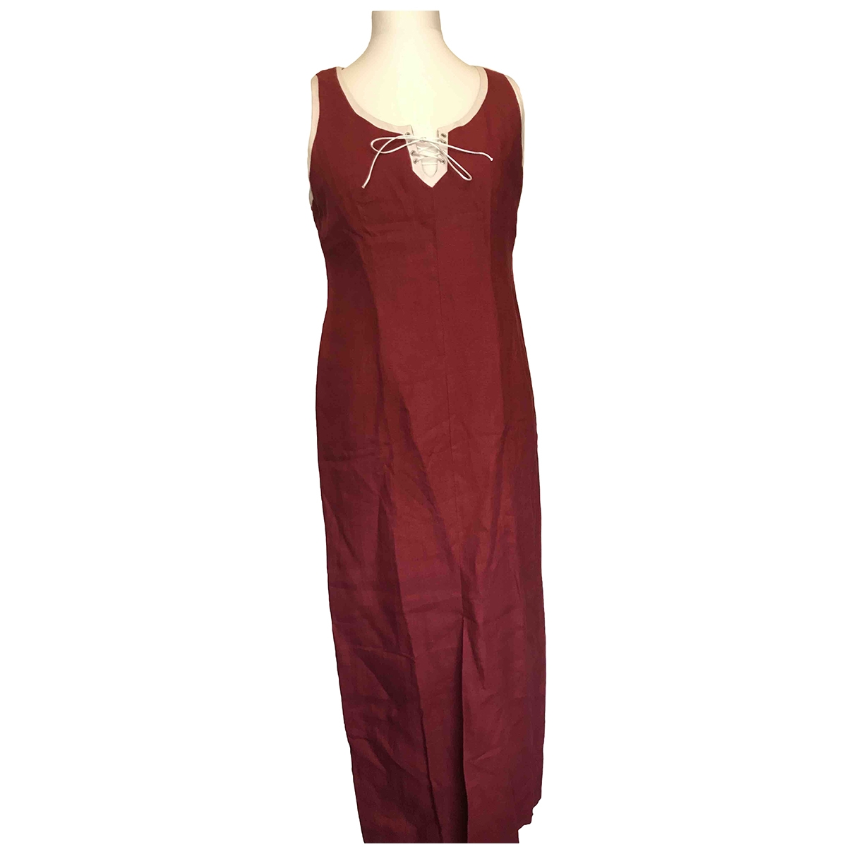 Maxi vestido de Lino Non Signe / Unsigned