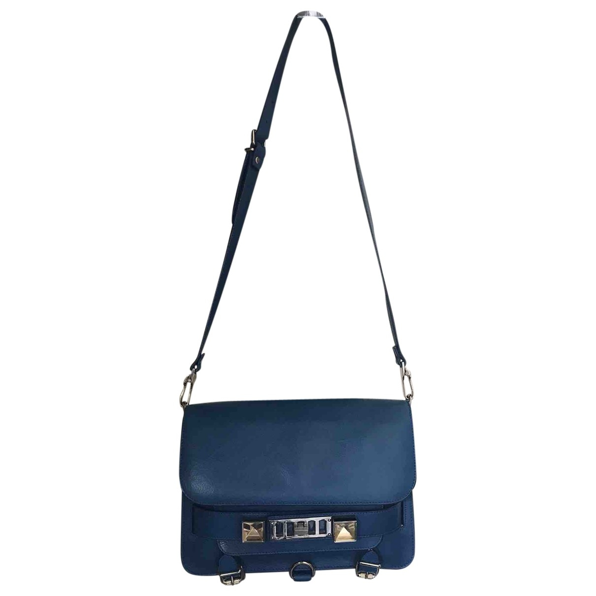 Proenza Schouler PS11 Blue Leather handbag for Women \N