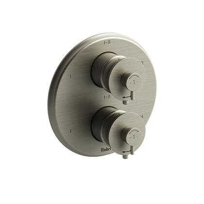 ATOP46BN 4-Way Type Thermostatic Coaxial Complete Valve  in Brushed