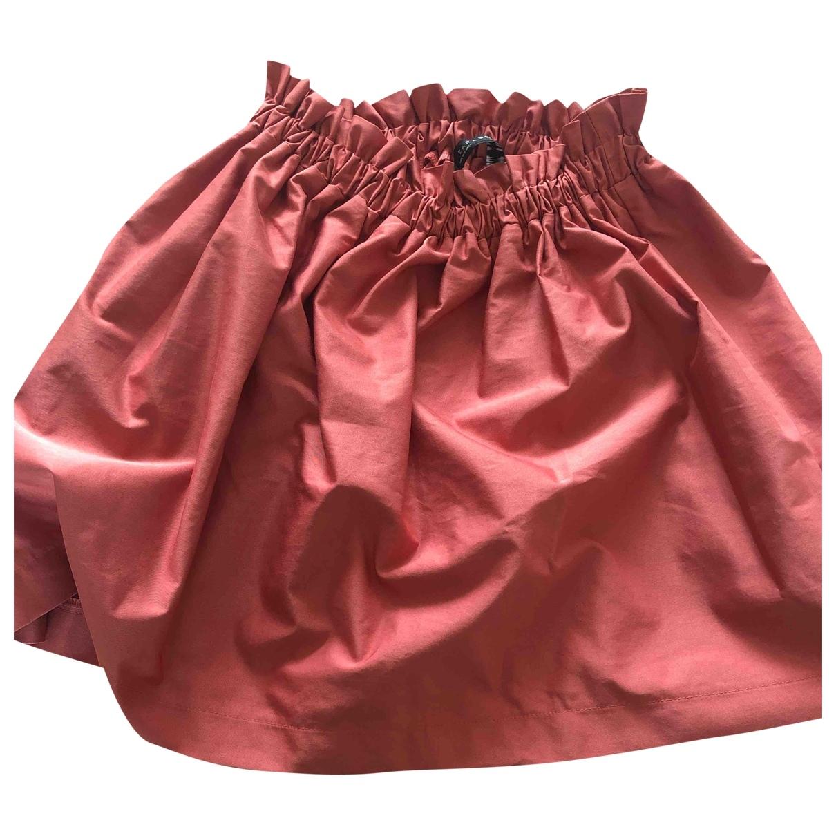 Pantalon en Poliester Rosa Zara