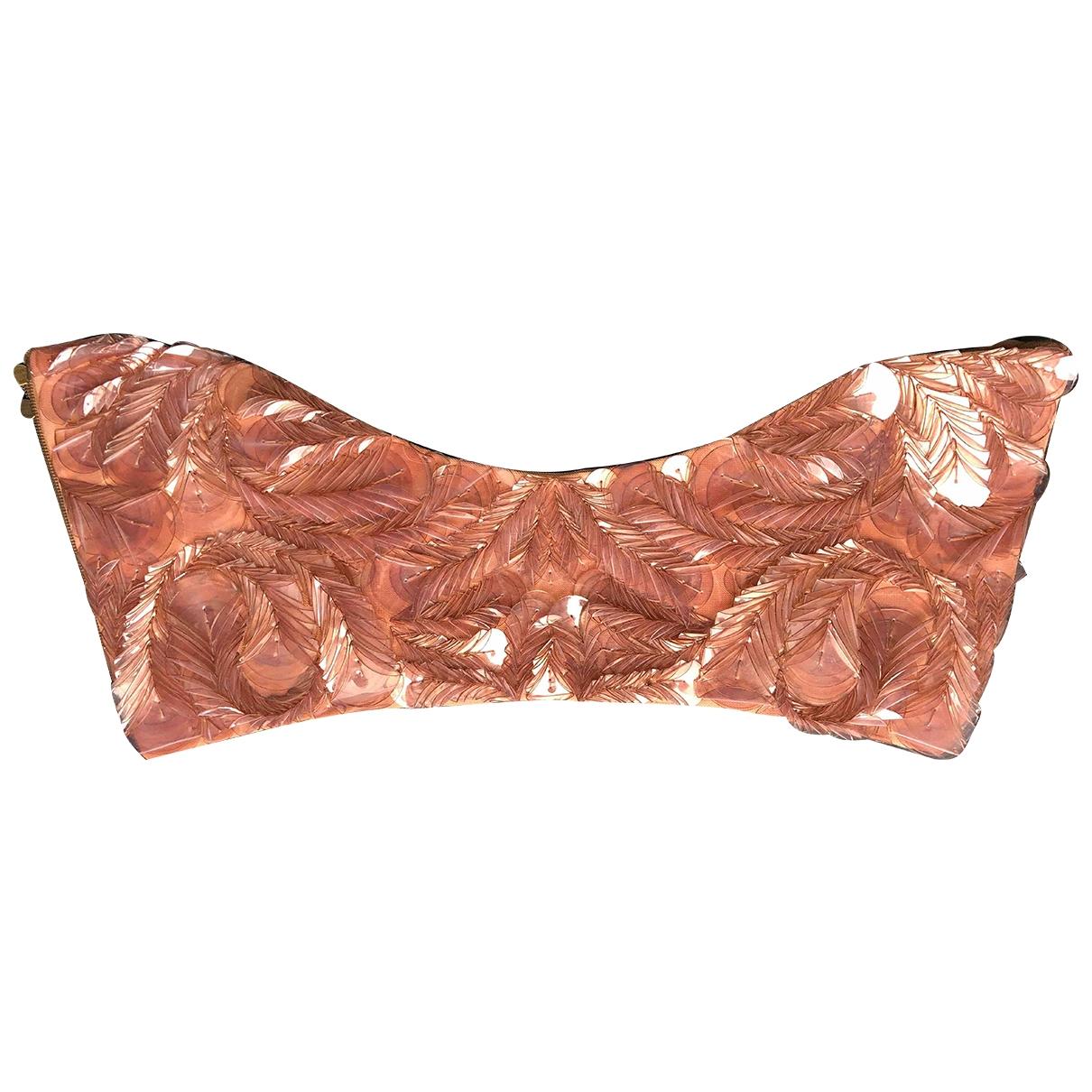 Marni \N Pink Glitter belt for Women S International