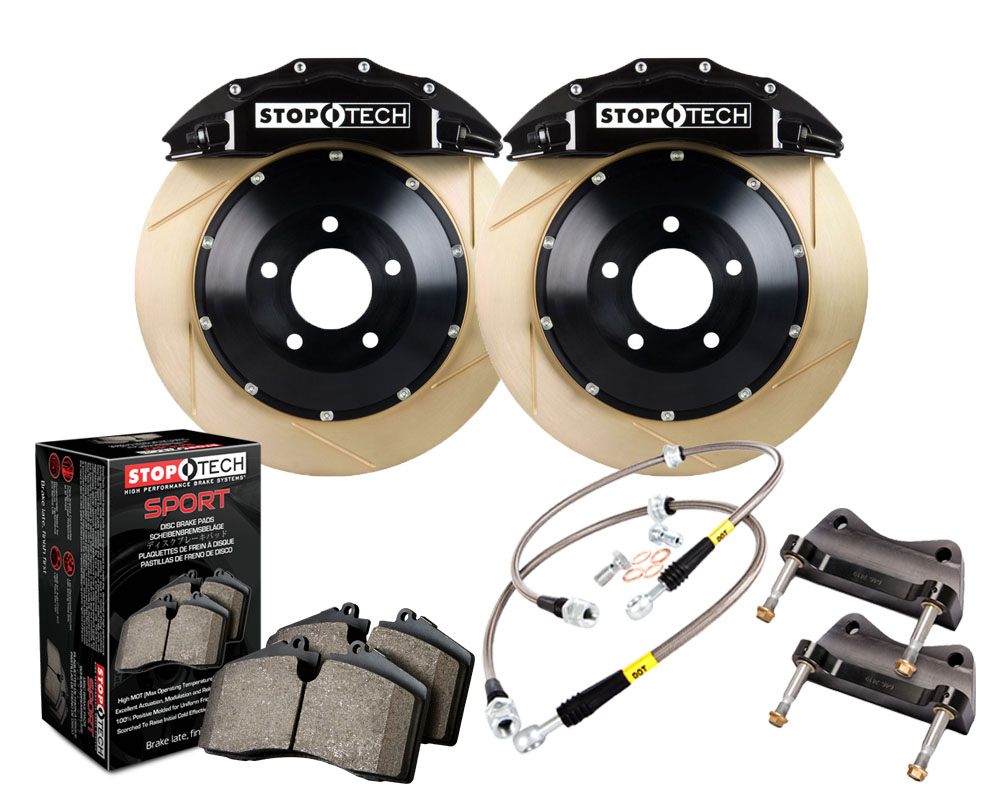 StopTech 83.165.6700.53 Big Brake Kit 2 Piece Rotor; Front BMW 135i Front 2008-2011