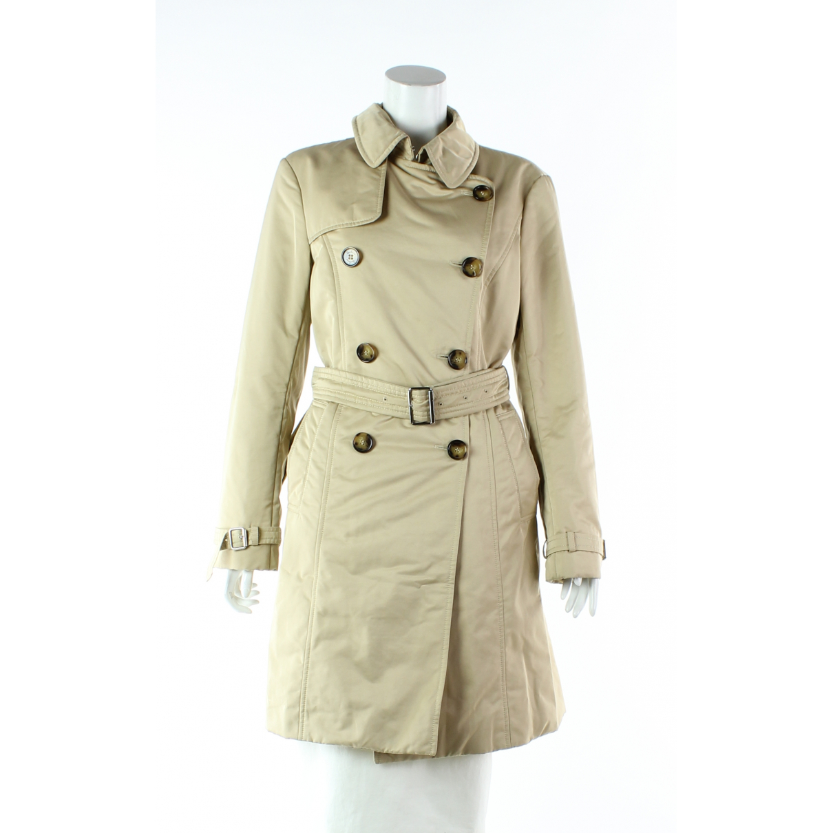 Burberry \N Trench in  Beige Polyester