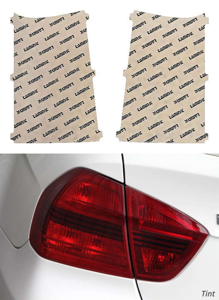 GMC Yukon 15-18 Tint Tail Light Covers Lamin-X G216T