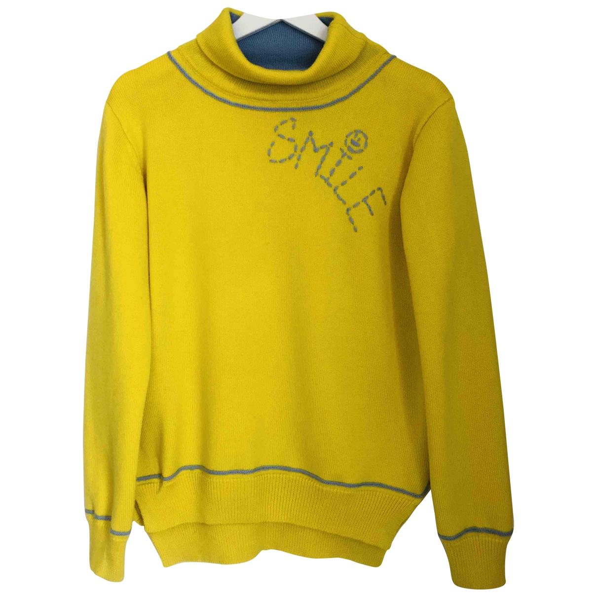 Mira Mikati \N Yellow Wool Knitwear for Women 40 FR