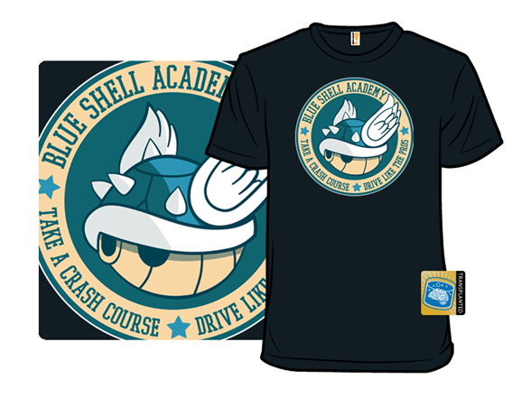 Blue Shell Academy T Shirt