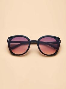 Gradient Acrylic Frame Sunglasses