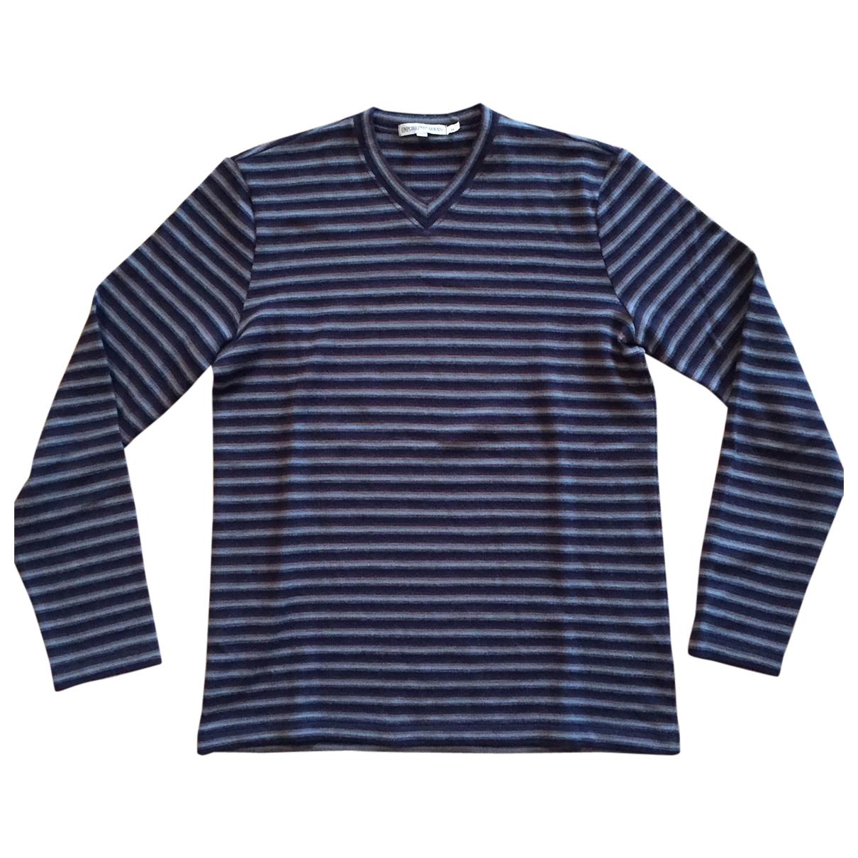 Emporio Armani - Pulls.Gilets.Sweats   pour homme en laine - multicolore