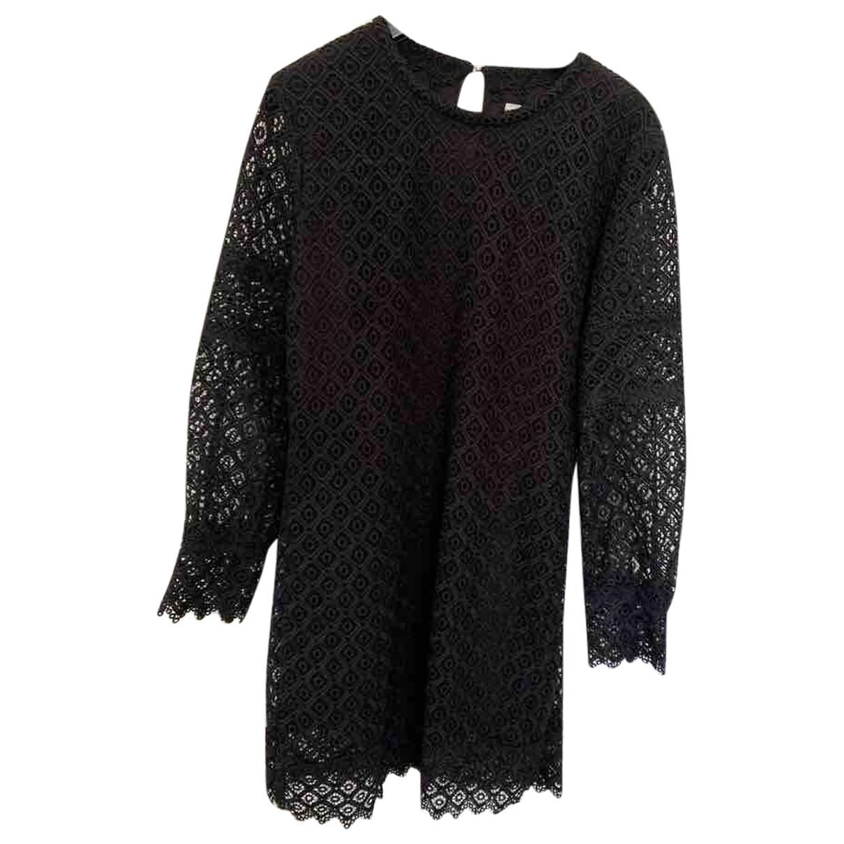 Iro - Robe   pour femme en dentelle - noir