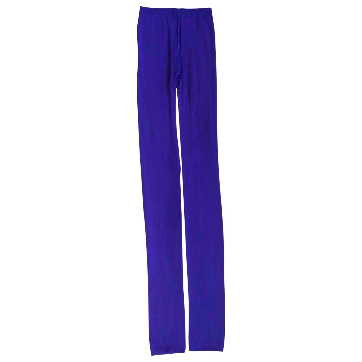 Wolford \N Blue Trousers for Women XS International