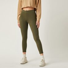 Leggings capri unicolor