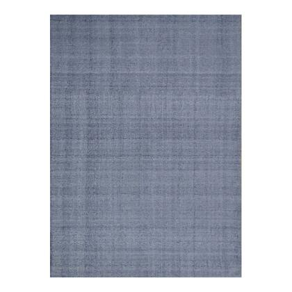 Habanero Collection JH-1023-29 5' x 8' Rug with Back: 100% Cotton in Gray
