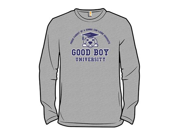 Good Boy University Zip Hoodie