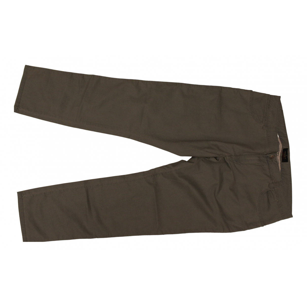Hackett London N Green Cotton - elasthane Jeans for Men 38 FR