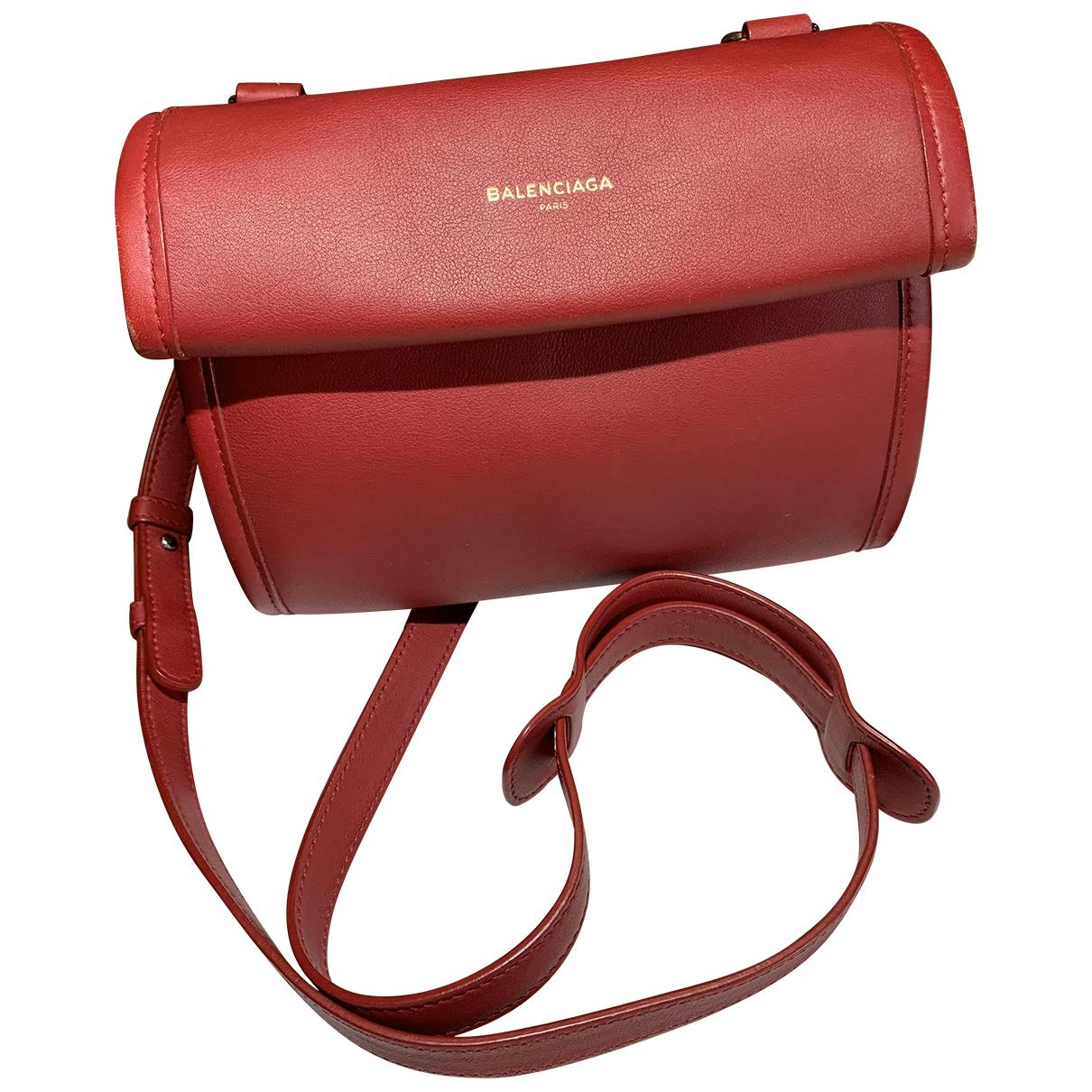 Balenciaga - Sac a main Tool Satchel pour femme en cuir - rouge
