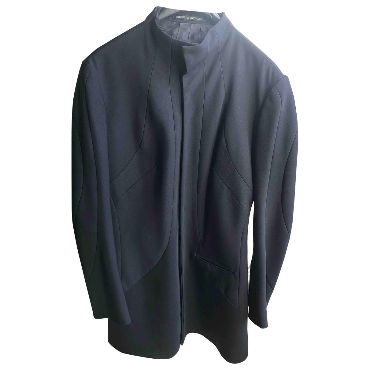 Yohji Yamamoto - Veste   pour femme en laine - noir