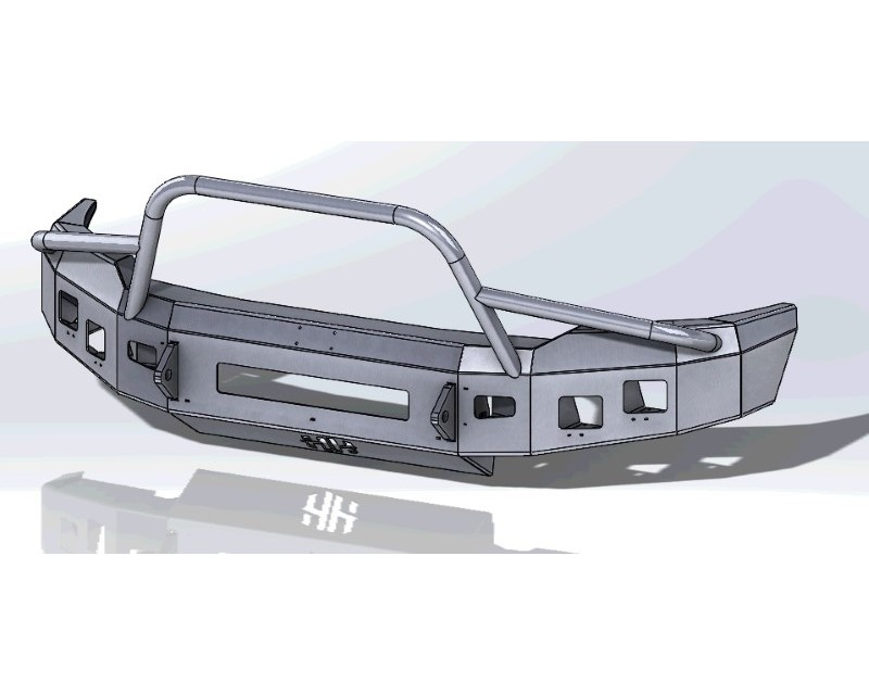 Hammerhead Armor 600-56-0720 F-150 Front Winch Bumper Low Profile Pre Runner For 18-Pres Ford F-150