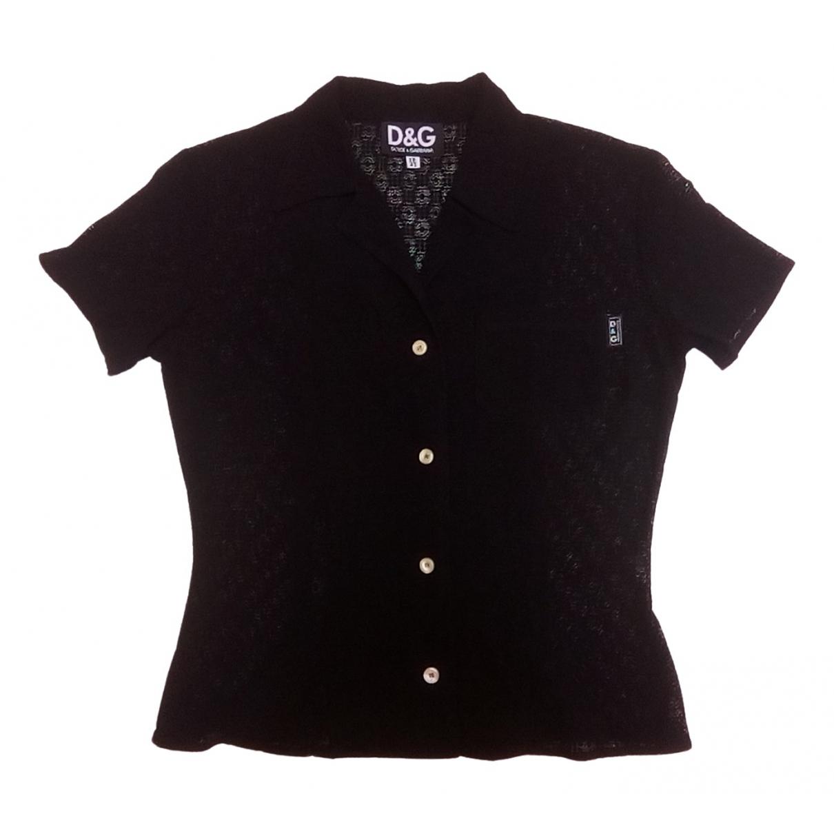 D&g \N Black  top for Women 42 IT