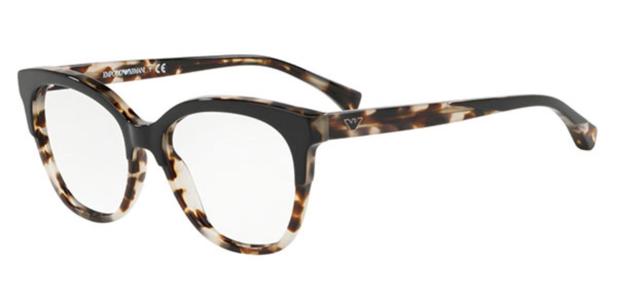Emporio Armani EA3136 5698 Women's Glasses Tortoise Size 51 - Free Lenses - HSA/FSA Insurance - Blue Light Block Available