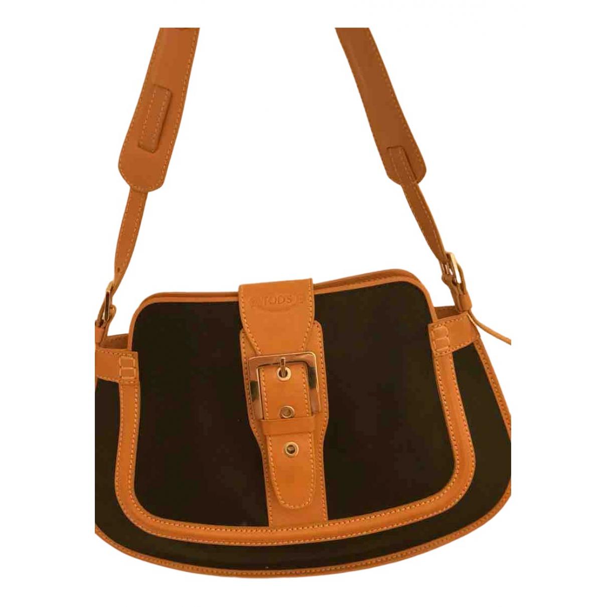 Tod's \N Black Cloth handbag for Women \N