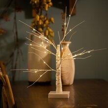 1 Stueck Nachtlicht in Baumform