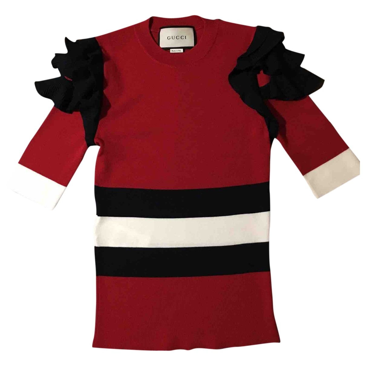 Gucci \N Pullover in  Rot Wolle