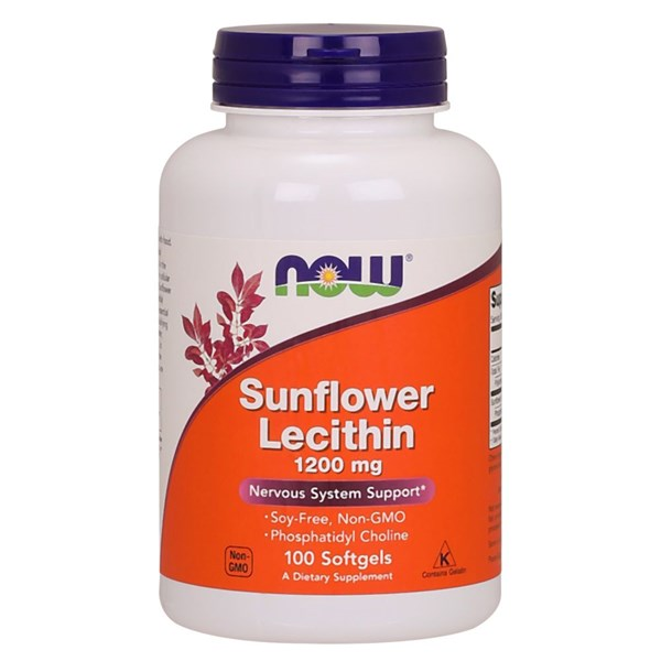 Sunflower Lecithin 100 Softgels by Now Foods