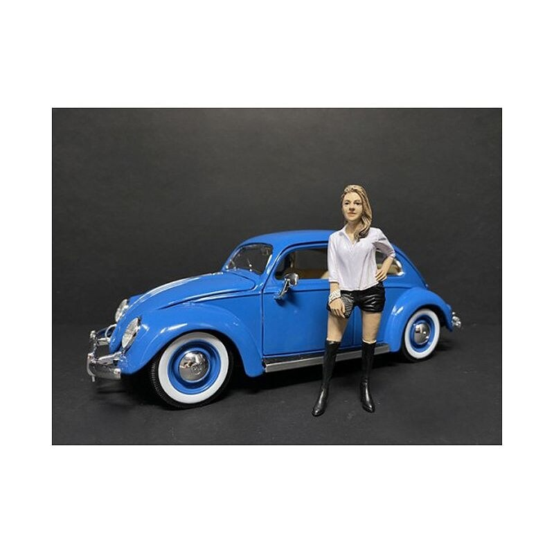 Partygoers Figurine VII for 1/18 Scale Models by American Diorama - Multi (Multi)
