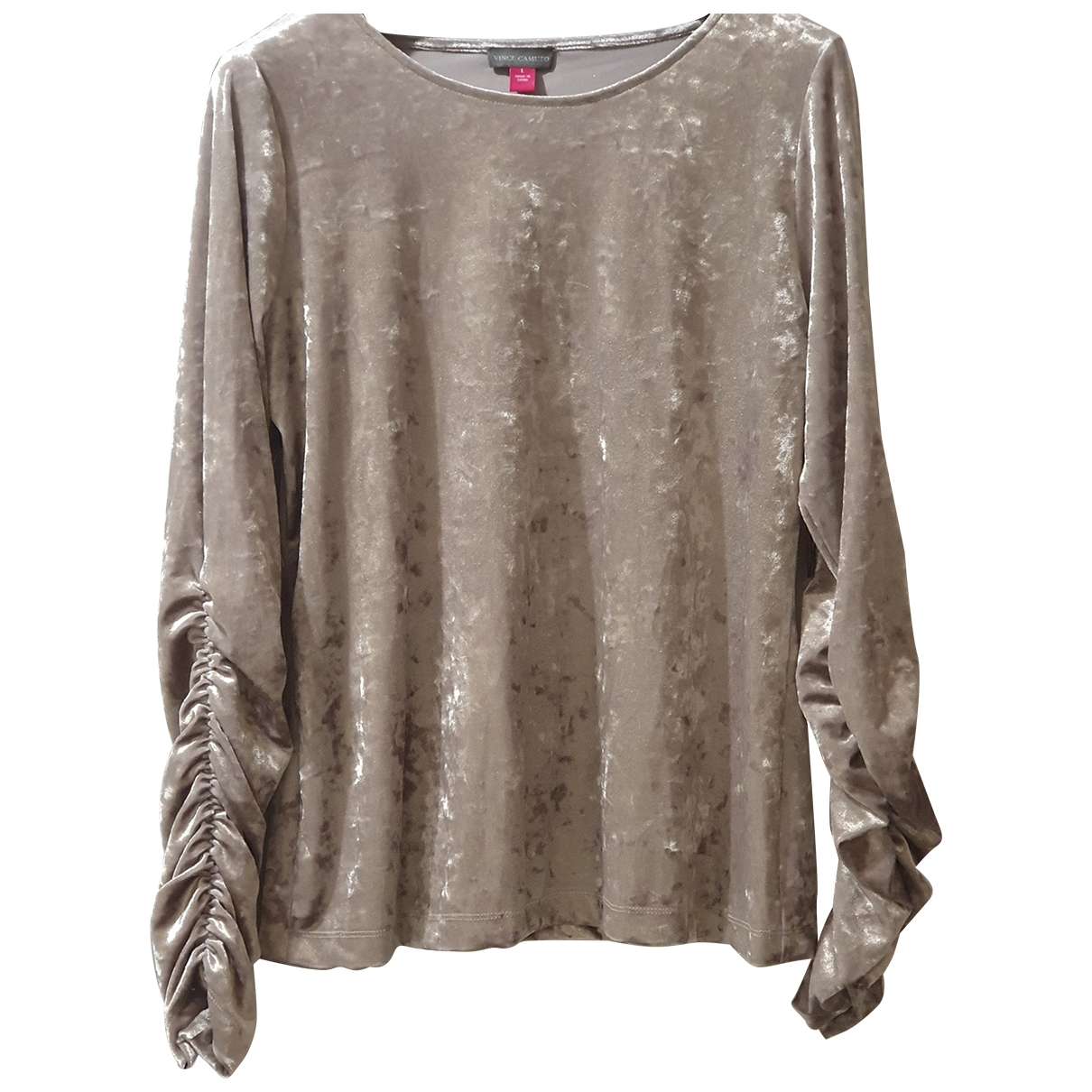 Vince Camuto \N Top in  Metallic Polyester