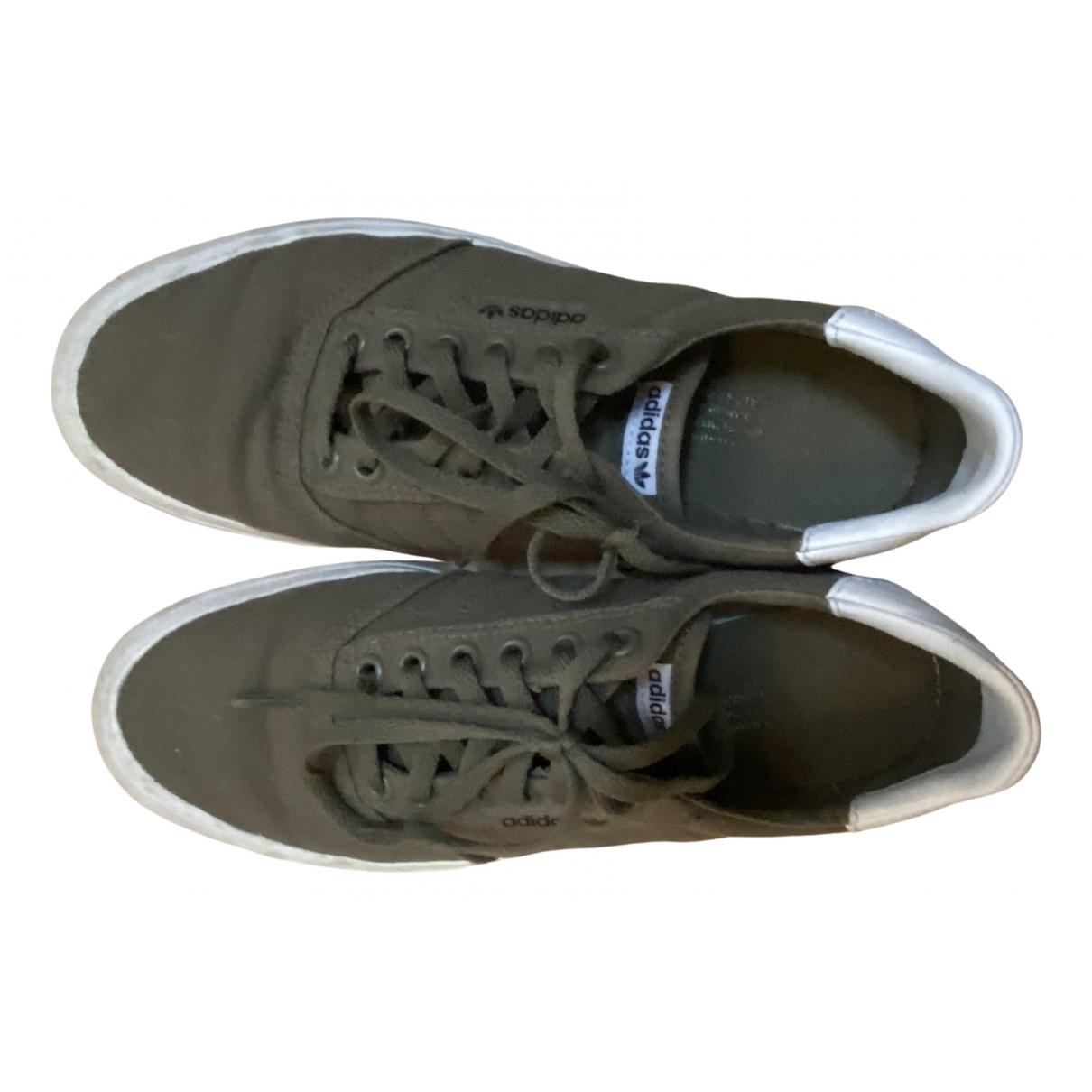 Adidas \N Sneakers in  Khaki Leinen