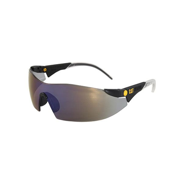 Dozer Safety Glasses with Blue Lenses