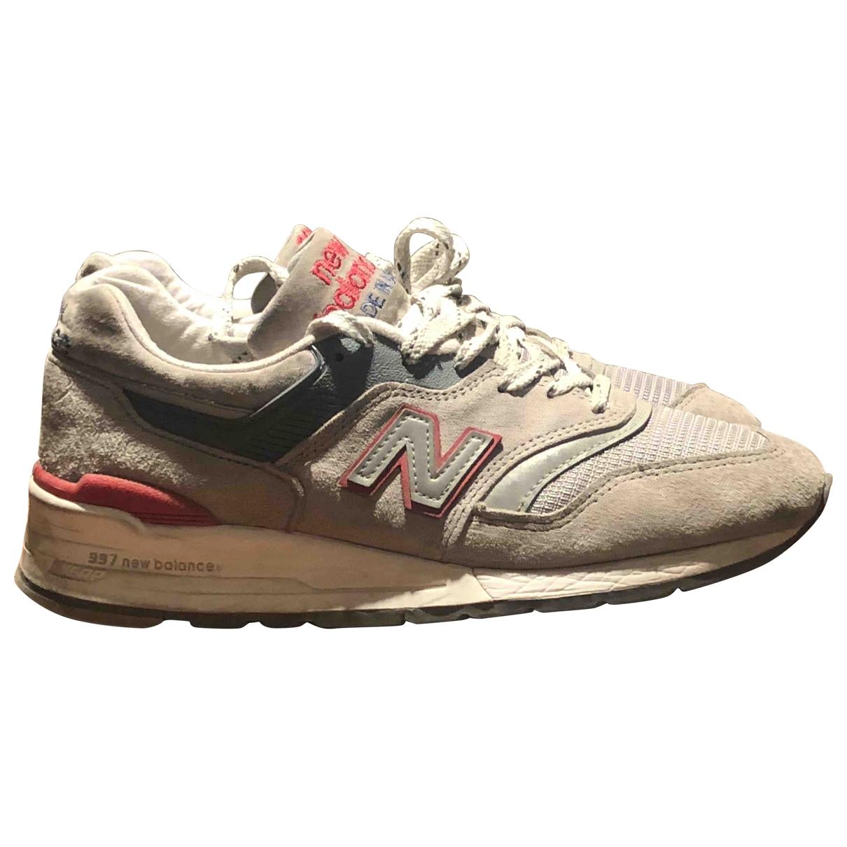 New Balance \N Sneakers in  Grau Leder