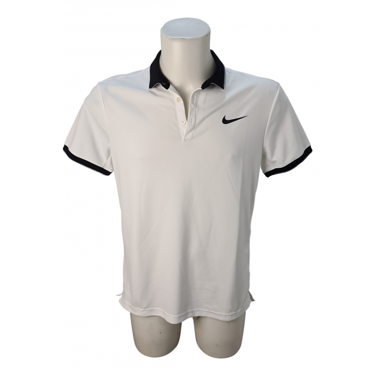 Nike \N Poloshirts in  Weiss Polyester