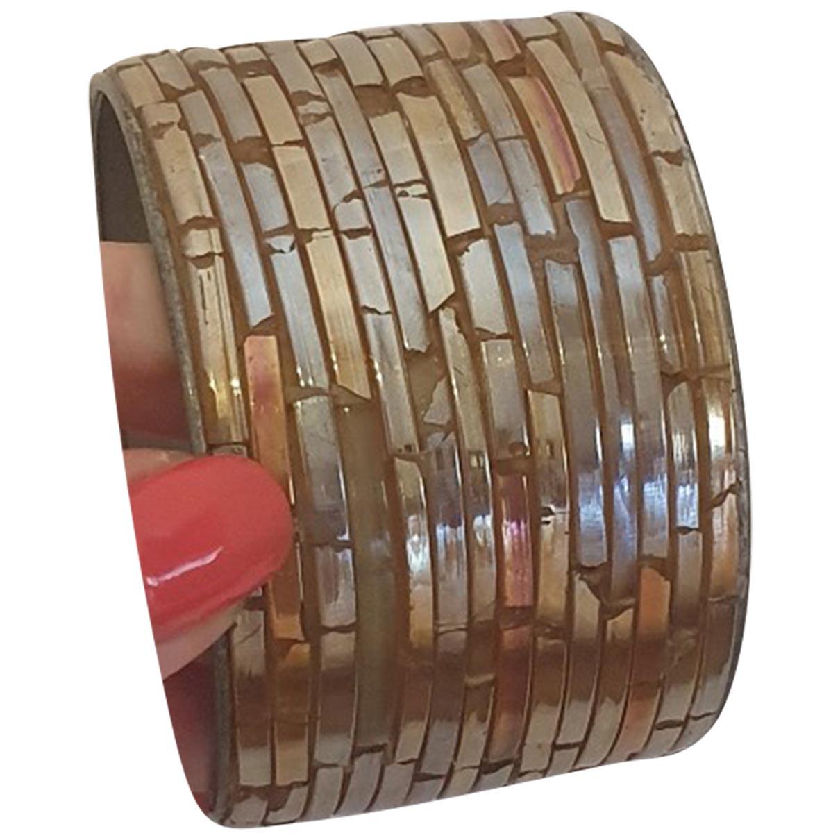Mangano - Bracelet   pour femme en metal - dore