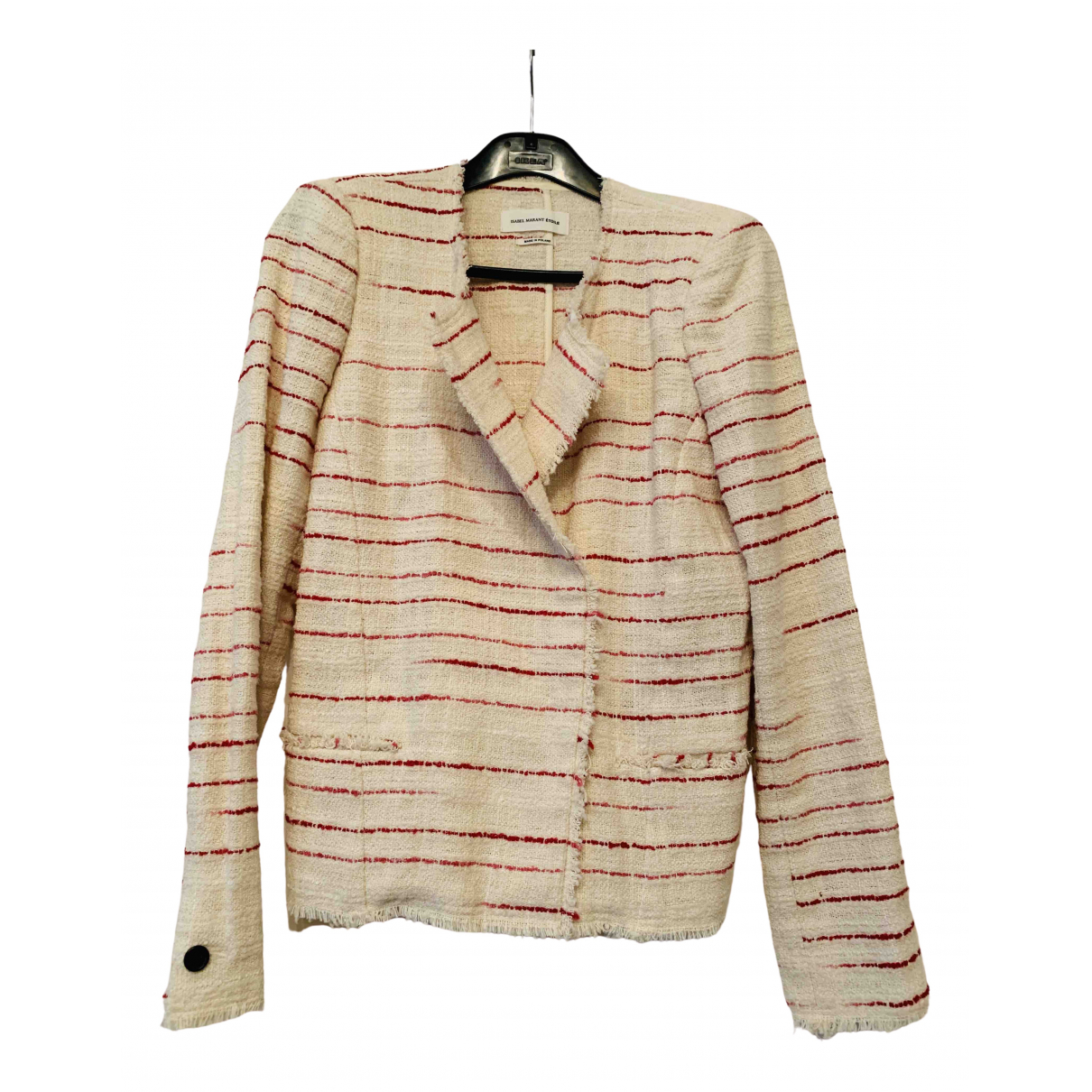 Isabel Marant Etoile - Veste   pour femme en coton - beige