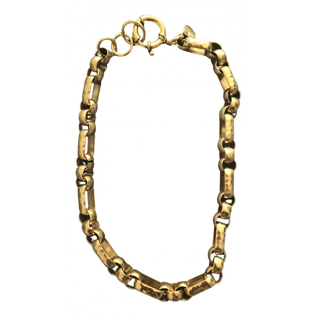 Adeline Affre - Collier   pour femme en plaque or - dore