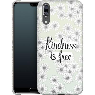 Huawei P20 Smartphone Huelle - Kindness is Free von Barlena