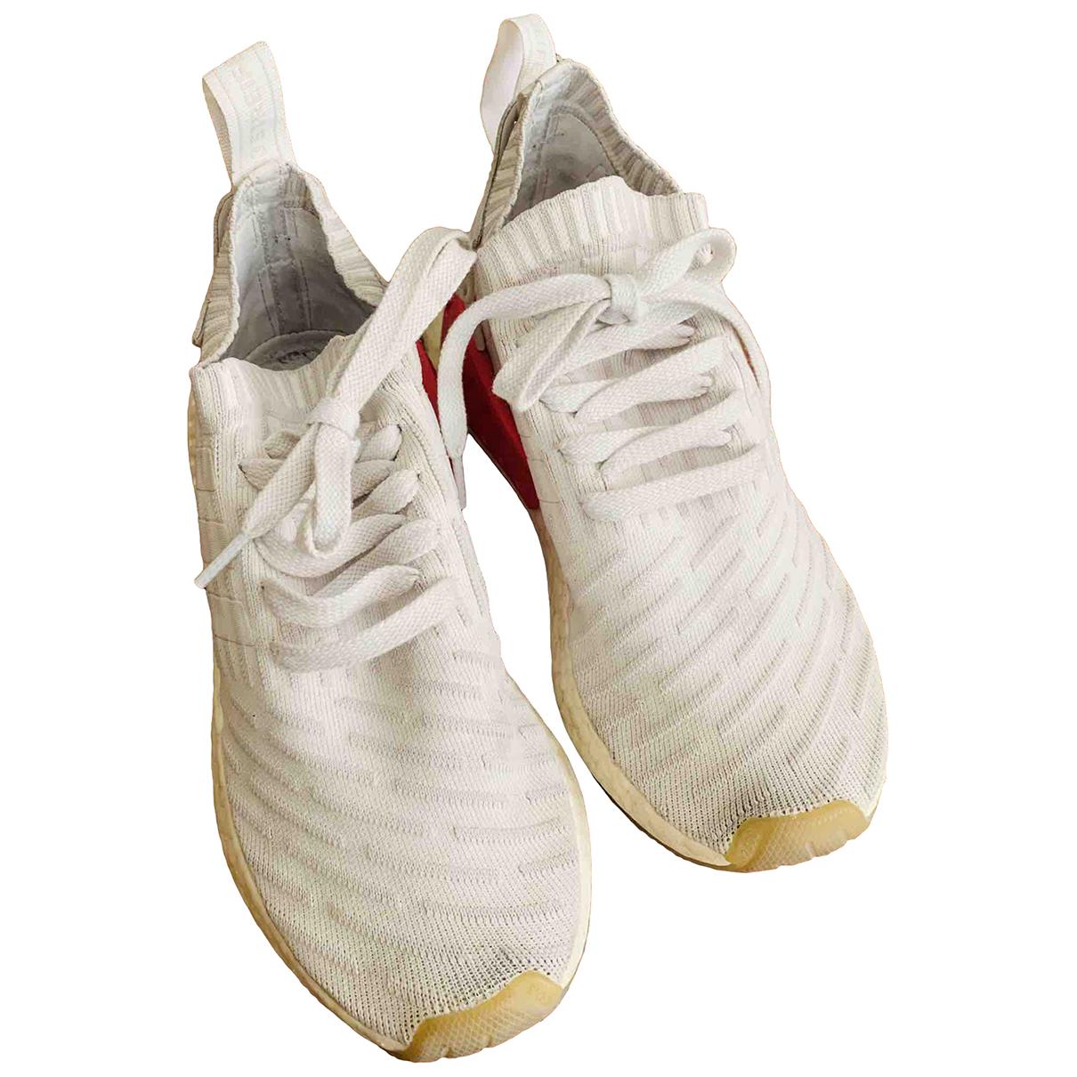 Adidas - Baskets PureBOOST pour femme en toile - blanc
