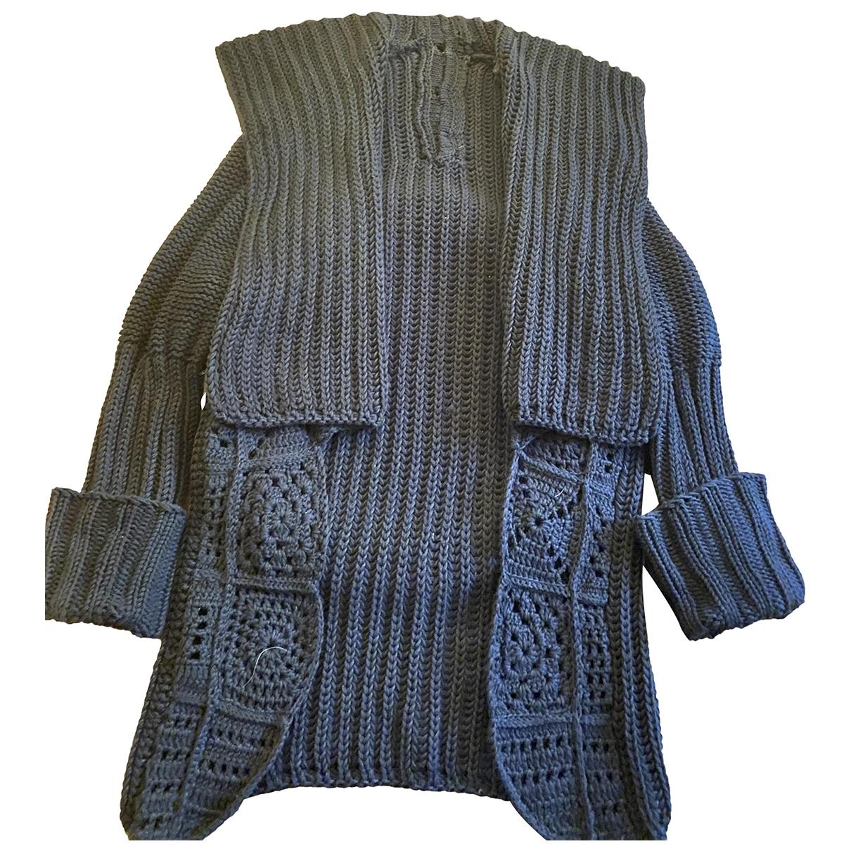 Les Hommes - Pulls.Gilets.Sweats   pour homme en laine - marron
