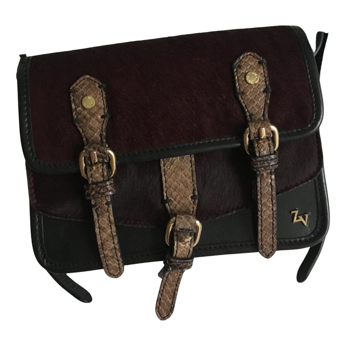 Zadig & Voltaire N Black Leather handbag for Women N