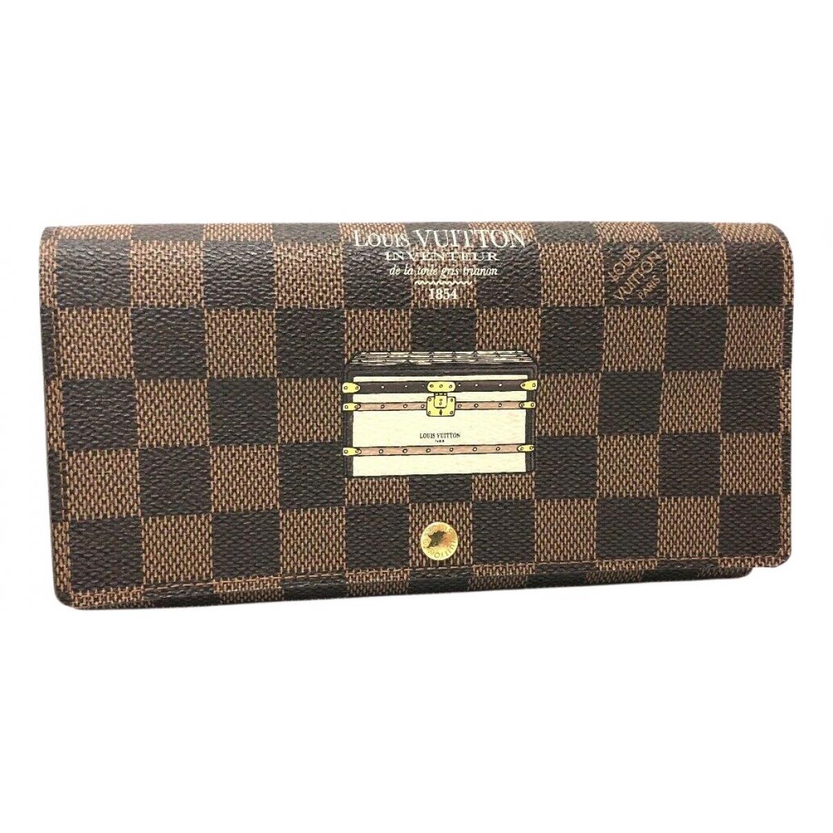 Louis Vuitton - Portefeuille   pour femme en toile